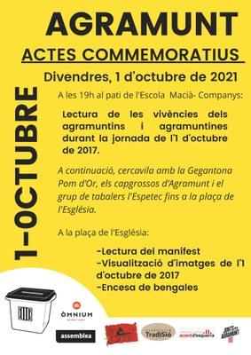 Actes 01 octubre 2021