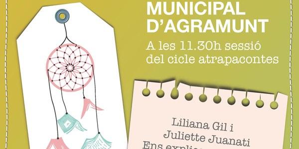 Atrapacontes amb Liliana Gil i Juliette Juanati