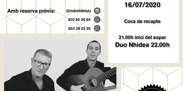Concert amb el Duo Nhidea