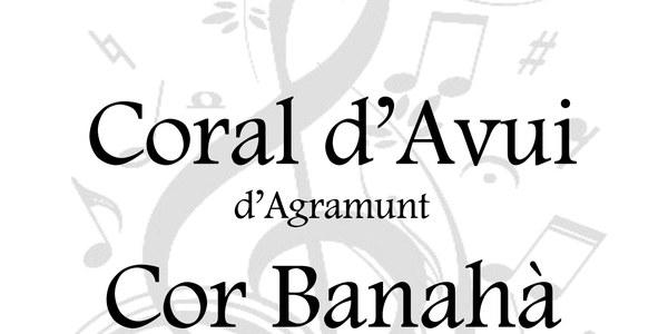 Concert corals Agramunt i Bellvís