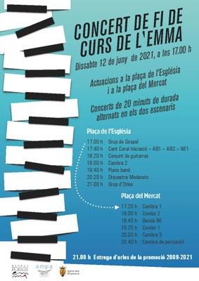 Concert Fi Curs EMMA_ 2021