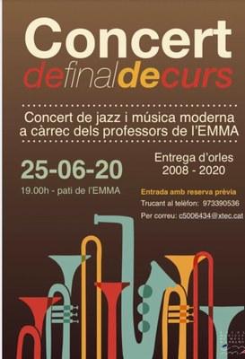 Concert fi curs EMMA 2020_Cartell