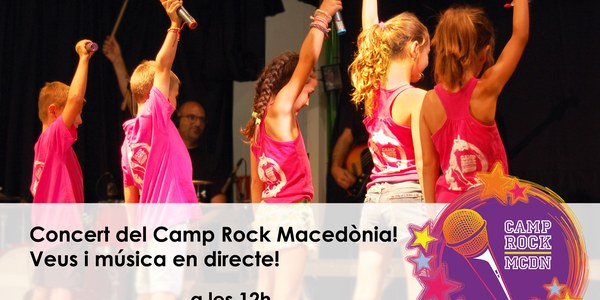 Concert del Camp Rock Macedònia