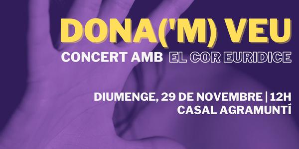 Concert DONA ('m) VEU