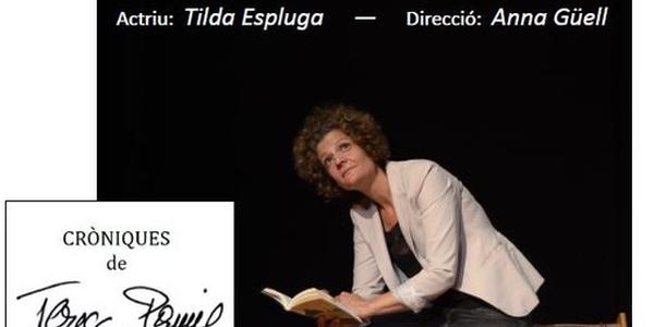 Espectacle: Cròniques de Teresa Pàmies