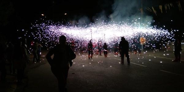 Espectacle de llum i de foc