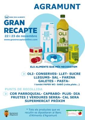 Gran Recapte Aliments_Agramunt 2019
