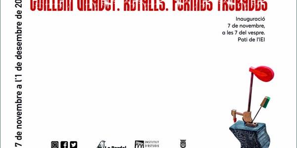 """Inauguració de l'exposició """"Guillem Viladot. Retalls. Formes trobades"""""""