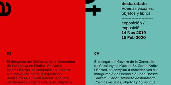 Joan Brossa- Guillem Viladot. Alfabeto desbaratado