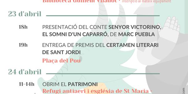 PREMIS CERTAMEN LITERARI DE SANT JORDI
