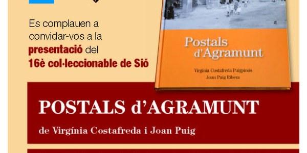 """Presentació del llibre """"Postals d'Agramunt"""""""