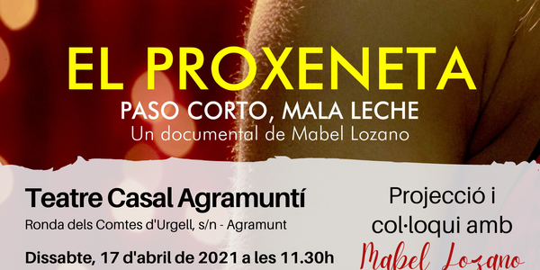 Cartell del documental 'El Proxeneta'