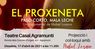 PROJECCIÓ I COL·LOQUI DEL DOCUMENTAL 'EL PROXENETA'