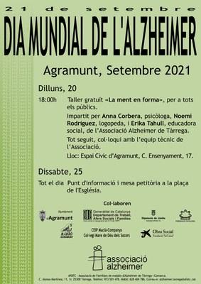 Dia Mundial Alzheimer Agramunt 2021