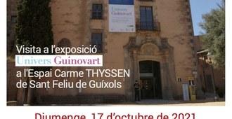 """Visita a l'exposició """"Univers Guinovart"""""""