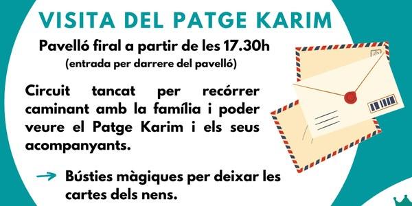 VISITA DEL PATGE KARIM