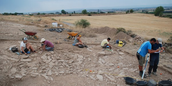 Imatges de la campanya arqueològica de 2018.