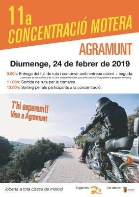 11a Concentració Motera Agramunt_cartell