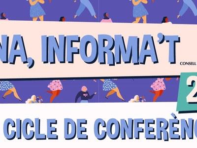 16è Cicle de Conferències Dona, Informa't 2019