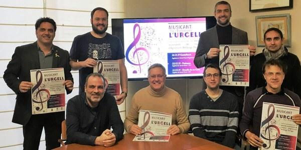 Presentació del 2n Cicle Musican't l'Urgell al Consell Comarcal de l'Urgell (09.01.2019)