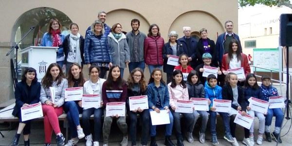 Guardonats al 42è Certamen Literari de Sant Jordi