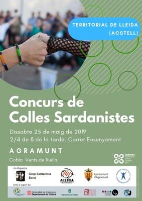 Concurs Colles Sardanistes Agramunt 2019