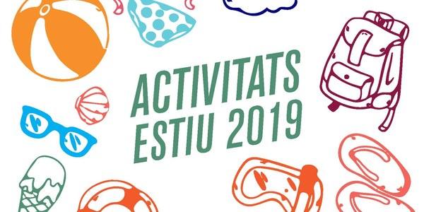 A punt el programa d'activitats dirigides per aquest estiu 2019