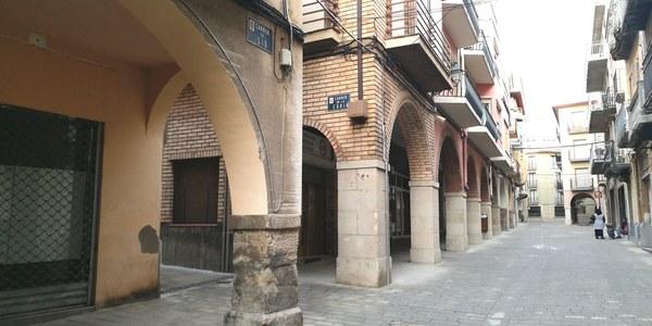 Imatge del carrer Sió