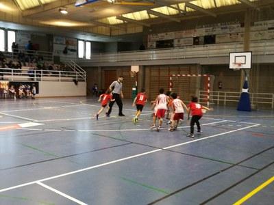 Agramunt acull la trobada d'hivern d'escoles de bàsquet