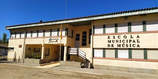Imatge exterior de l'Escola Municipal de Música d'Agramunt