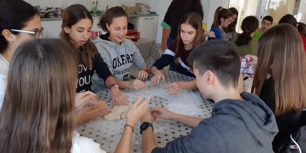 Activitat amb joves que s'ha fet a Agramunt