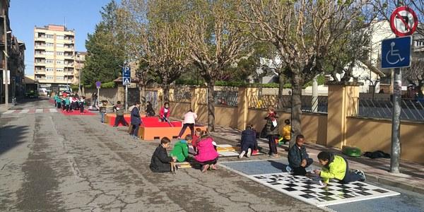 Activitats al carrer durant el Dia sense cotxes