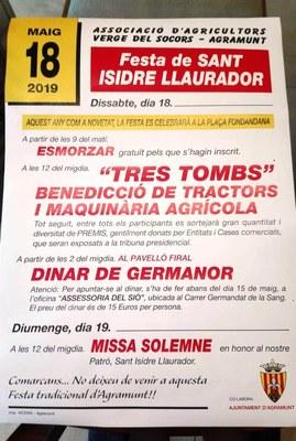 Festivitat Sant Isidre (2019)