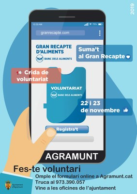 Campanya voluntaris Gran Recapte 2019
