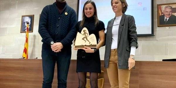 Acte de reconeixement a la Sílvia Puigarnau