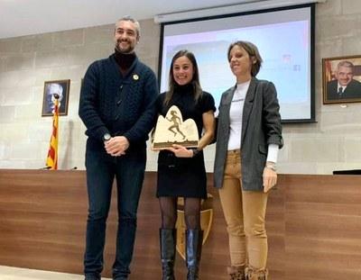 Agramunt homenatja l'esportista agramuntina Sílvia Puigarnau