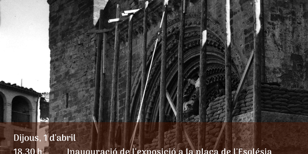 Cartell dels actes per commemorar el 83è aniversari del bombardeig a Agramunt.
