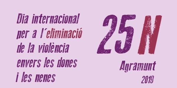 Agramunt organitza diferents actes per commemorar el 25N