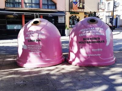 Agramunt recicla 340kgs de vidre