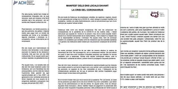 Manifest #Aturemelcovid19