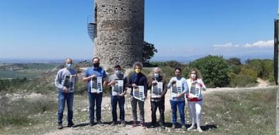 AGRAMUNT SE SUMA AL 'LET'S CLEAN UP EUROPE' AMB LA NETEJA DE L'ENTORN DEL PILAR D'ALMENARA