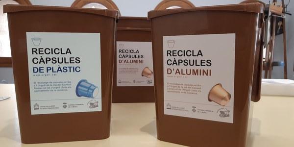 AGRAMUNT TINDRÀ QUATRE PUNTS DE RECOLLIDA DE CÀPSULES DE CAFÈ