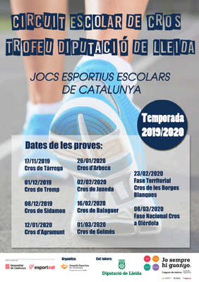 Circuit Escolar Cros Lleida 2019-2020