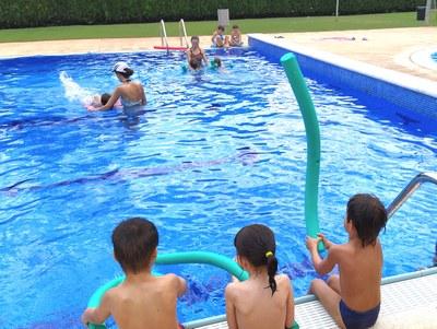 Ampliació de les franges d'edats per fer cursets de natació