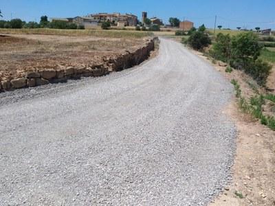 Arranjament dels camins de La Donzell