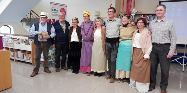 Redactors de la Revista Sió que van fer la sessió de contes