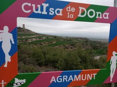 BONA VALORACIÓ DE LA CURSA DE LA DONA D'AGRAMUNT, QUE ACABA AMB 682 INSCRITS