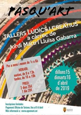 Tallers Pasqu'art 2019