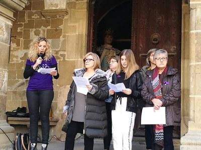 Celebració del 08 de març a Agramunt