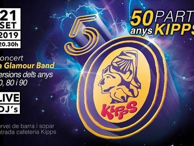 Festa de celebració dels 50 anys del Kipps